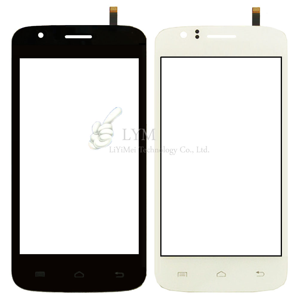 Black White Touch Panel for Explay Fire 4 0 Touch Screen Digitizer Glass Sensor Replacement Part