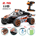 Hobby 2.4g 4ch 4wd buggy rc car toys 1/18 rastreadores de rock 333-GS03B 05B 06B Motores de Doble Disco Moster camión RC Modelo Off-Road