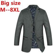 Plus size 9xl 8XL 7XL 6XL 5XL 4XL 2016 schlank leinen anzug herrenbekleidung anzug männlichen drei taste oberbekleidung jacke hohe qualität