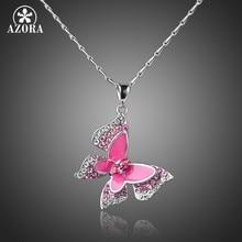 d094ca8c5e31 Rosa Collar De La Mariposa - Compra lotes baratos de Rosa Collar De ...