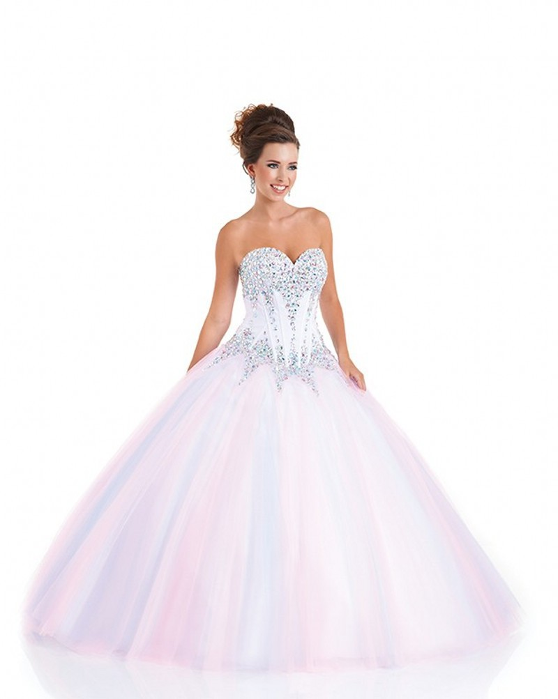 Stunning Beautiful Cinderella Quinceanera Dresses Pink
