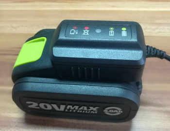 100 V-240 V 20V สำหรับ WORX 20V WA3851 Rockwell WA3512 WG151e WG151 RW9161 WA3512 WA3511 RW9161 WG251 Charger