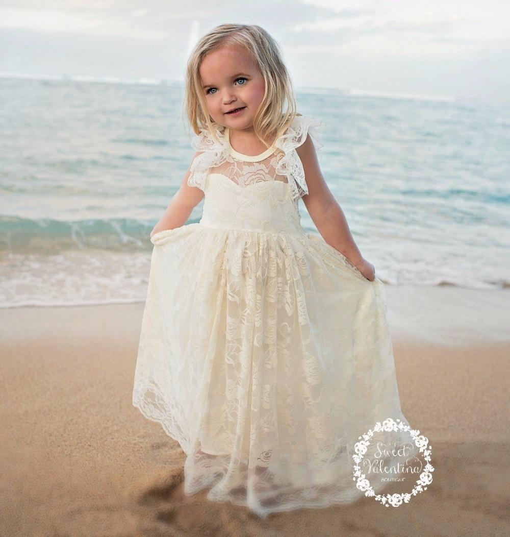 Vestido para boda en la playa de nina