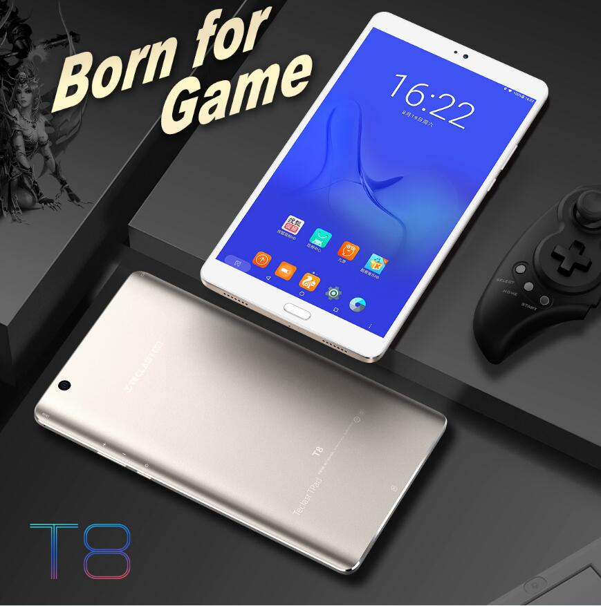 Original Teclast T8 Android 7.0 Tablet PC 8.4 Inch 2560*1600 IPS Screen MT8176 Hexa Core WiFi BT Camera 4GB RAM 64GB ROM