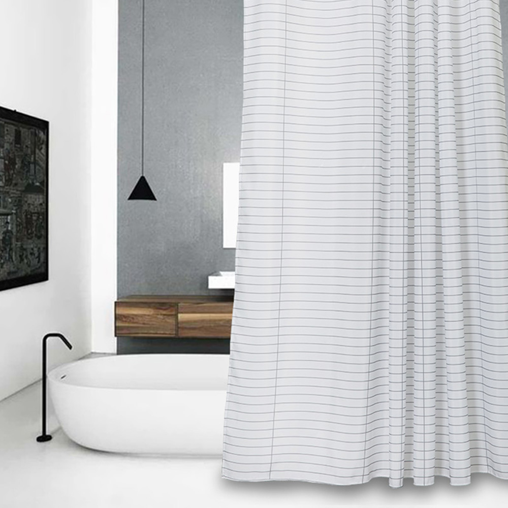Grey Curtain PromotionShop For Promotional Grey Curtain On - Beige and gray shower curtain
