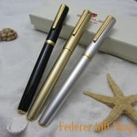 3 Color Set LISEUR L33 Metal Case Fountain Pen Unique Nib Gift Ink Pen