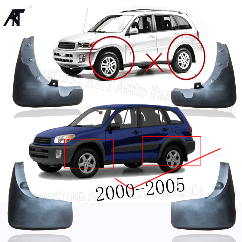 Toyota RAV 4 2000-2005 Front bumper moulding mounting bracket 1.pc