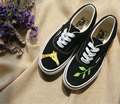 2016 New arrival fashion women canvas low cute print  women shoes hand-painted Casual shoes high quality
