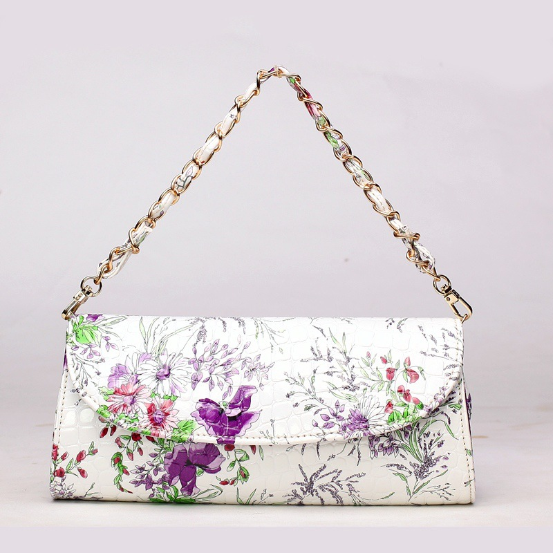 new China style Plum flower casual clutch bag blue and white porcelain folk  style shoulder bag messenger Crossbody Bags-in Shoulder Bags from Luggage    Bags ... 44f2c2aee45f2