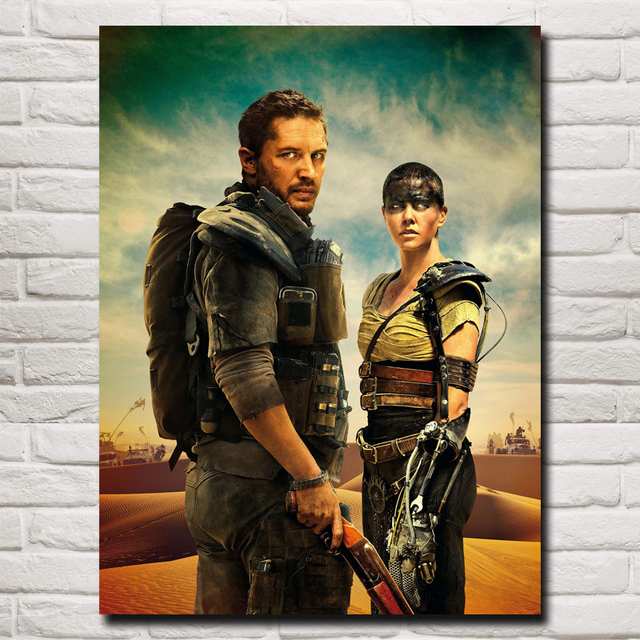 Mad Max Fury Road Movie Art Silk Fabric Poster Print Wall Home Decor Pictures 12×16 18×24 24X32 Inches Free Shipping