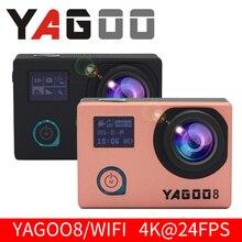 yagoo8 4K Sports Action Camera WiFi Full HD 1080P 60fps 2.0″LCD Go Waterproof 30M Pro Mini Helmet Camcorder 16MP Cam ntk96660