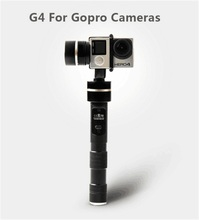 Free Shipping Fei Yu G4 tech Newestproducts For Gopro 3 / 3 + 4 G4 3-Axis Handheld Gimbal / 3-Axis Gimbal
