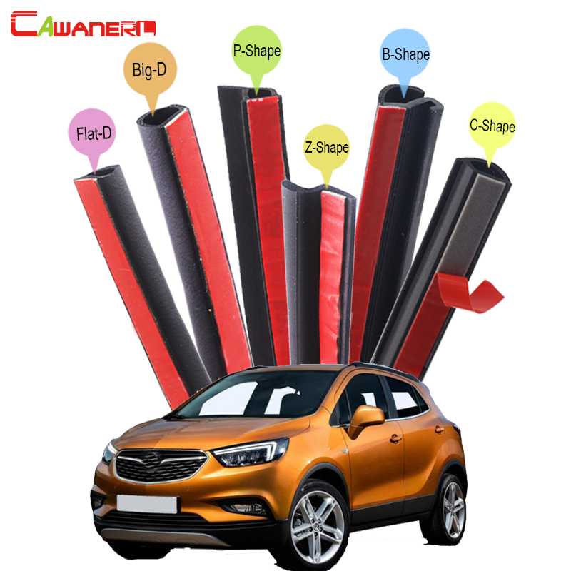 Cawanerl Car Seal Sealing Strip Kit Weatherstrip Rubber Seal Edging Trim Sound Insulation Waterproof For Vauxhall Antara Mokka cawanerl for peugeot 407 408 508 607 301 car accessories seal edge trim weatherstrip rubber sealing strip kit noise control
