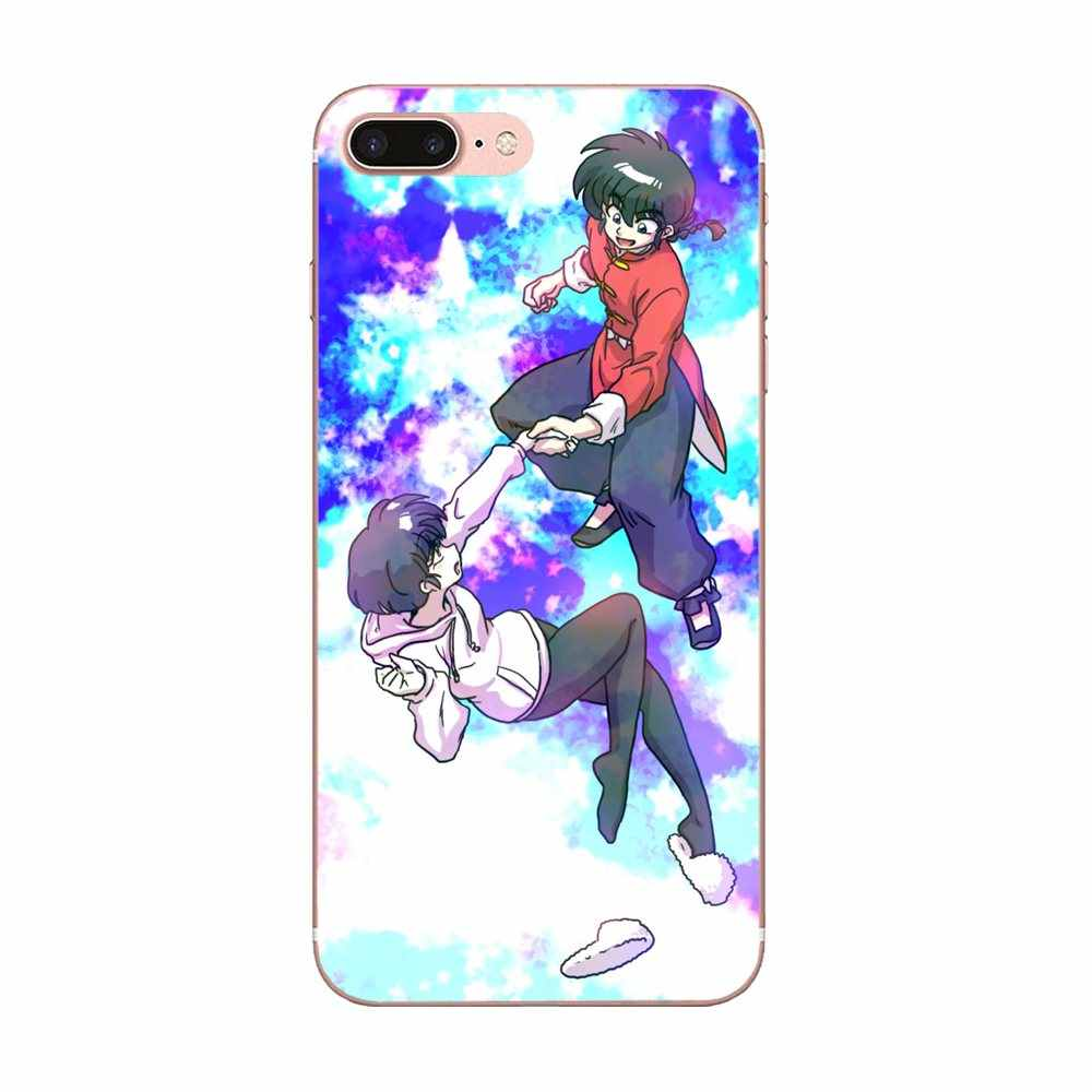 Impression Dessin TPU Anime Ranma 1 2 Pour Huawei Honor 4C 5A 5C 5X6 6C 6A 6X7 7X8 9 V8 V10 Y3II Y5II Y6II G8 P7 Lite