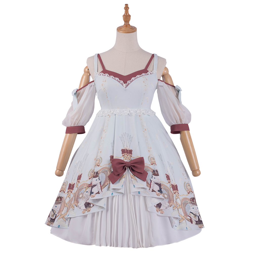 Robe Lolita douce soeur robe ensemble complet de jupes quotidiennes