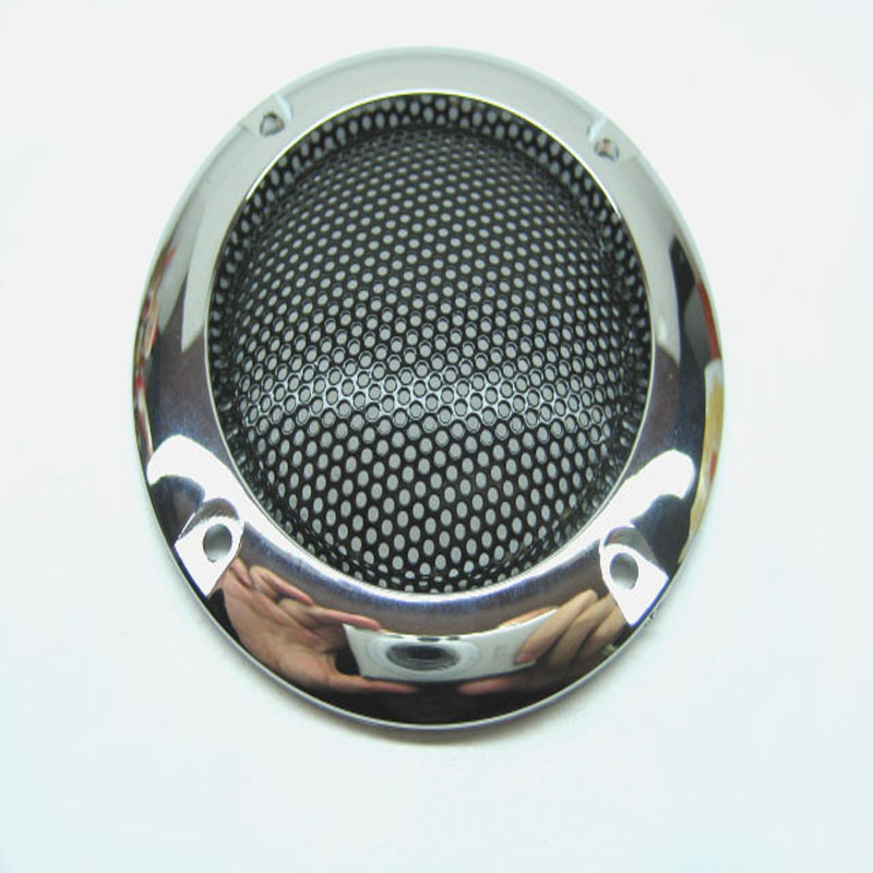 Argent corne 2 décoration cercle de protection noir de fer haut-parleur  anneau ceinture bricolage grille HIFI accessoires Livraison Gratuite 9418b60a395