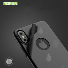 Luxury iphone X case aluminium 360 hard protector with ring