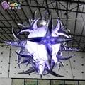2 м декоративные светильники для вечеринок  Подвесные светодиодные надувные сжимаемые звезды  подвесные надувные светильники  лопающиеся З...