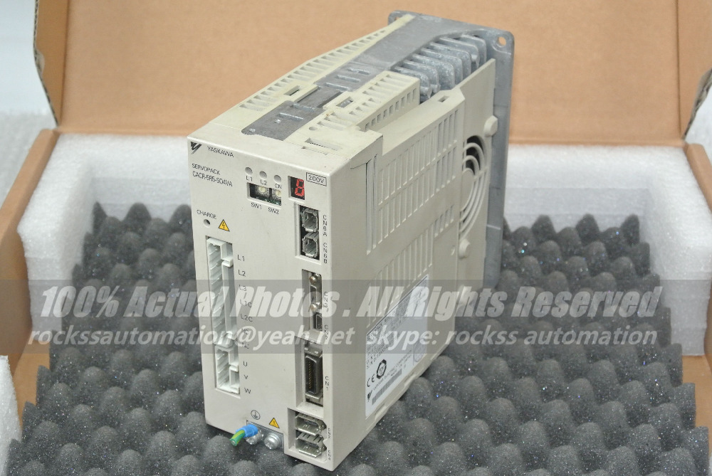 Used Good Condition CACR-5R5-S04VA 5.5A 750W  With Free DHL / EMS  цены