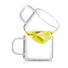 GFHGSD 150 мл Термостойкое стекло materal чашки для кофе ручной работы Изысканная чашка стеклянная чашка вечерние лучший подарок для друзей