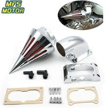 цена For 04-10 Kawasaki Vulcan 2000 VN2000 Classic Spike Cone Air Cleaner Intake Filters Kit Motorcycle Accessories Parts 2004-2010 онлайн в 2017 году