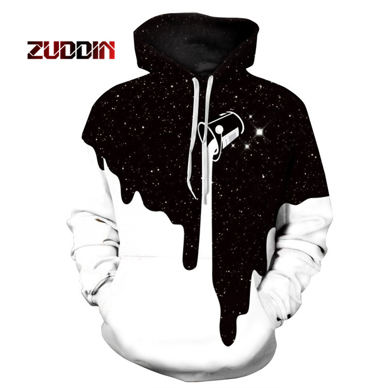 Dropshipping 2018 Newest 3D Print Christmas Halloween Skull Theme Pullover Hoodies for W ...