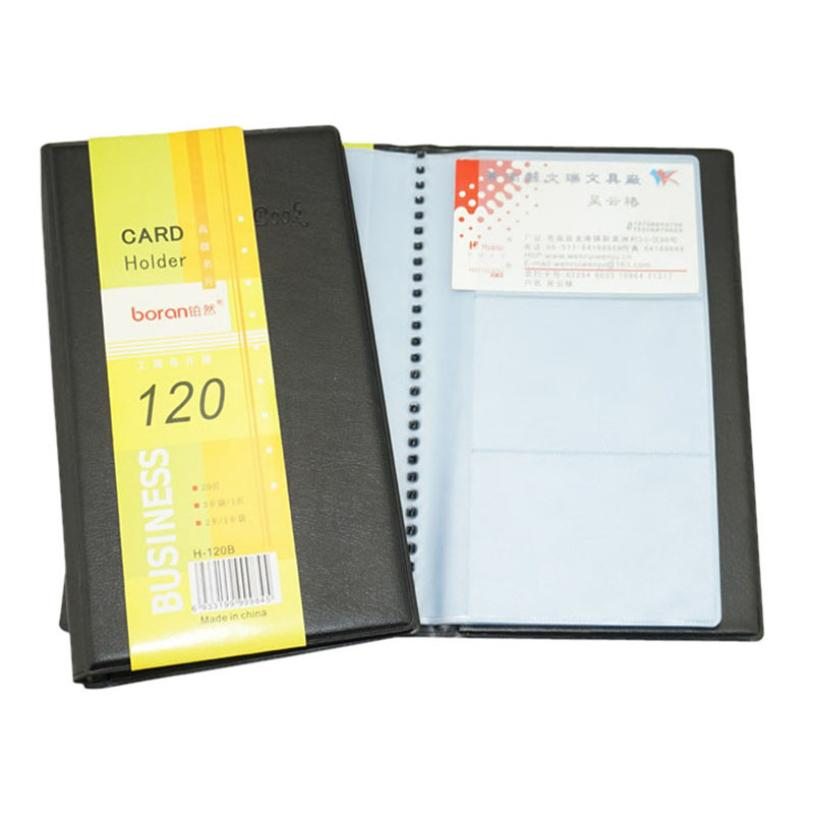 Card wallet leather 120 cards id business card holder book case card wallet leather 120 cards id business card holder book case keeper organizer new credit card holder 1013 in card id holders from luggage bags on colourmoves