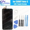 CUBOT Nota S Display LCD + Montagem da Tela de Toque 100% LCD Original Digitador de Vidro Substituição Do Painel Para CUBOT Nota S 1280X720HD