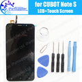 CUBOT Note S LCD Display+Touch Screen Assembly 100% Original LCD Digitizer Glass Panel Replacement For CUBOT Note S 1280X720HD
