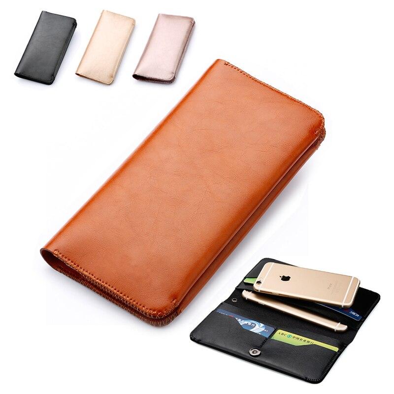 bilder für Mikrofaser Lederhülle Tasche Telefon Fall Abdeckung Brieftasche Flip Für ZTE Axon 7 Max/Nubia Z11 Mini S