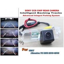For SEAT Alhambra 7N MK2 2010 2015 Car Intelligent Parking Tracks Camera HD Back up Reverse