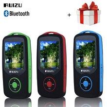 RUIZU X06 reproductor de mp3 Bluetooth 8 GB 16 GB deporte 1.8 Pantalla Digital Reproductor de Música MP3 Reproductor de Vídeo Radio FM TF HIFI Estéreo walkman