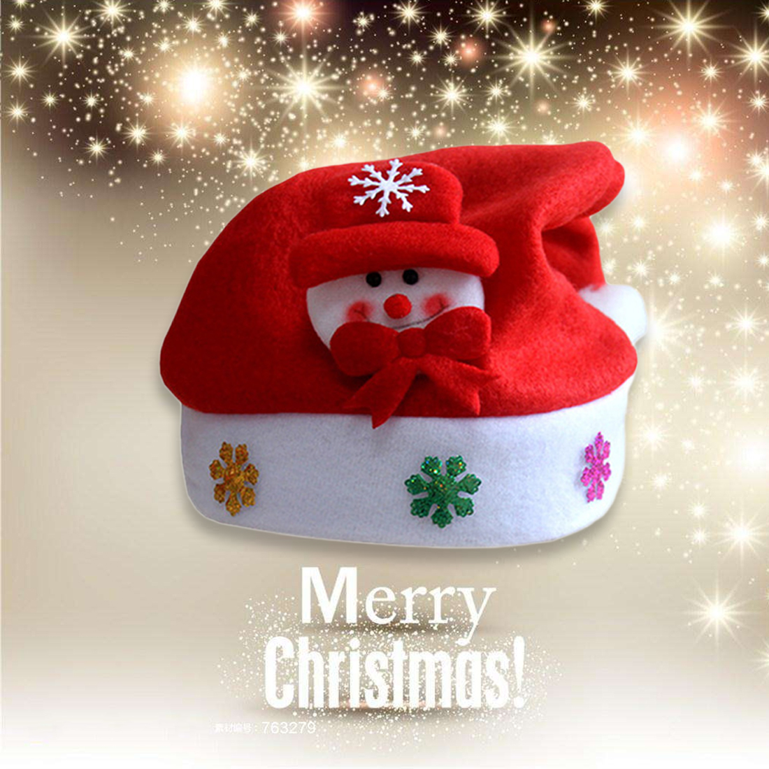Holiday Party Lovely Cartoon Christmas Hats Kids Cloth Christmas Hat Kids Children Adult Headwear Decor Xmas Gift Convenient To Cook Christmas Festive & Party Supplies