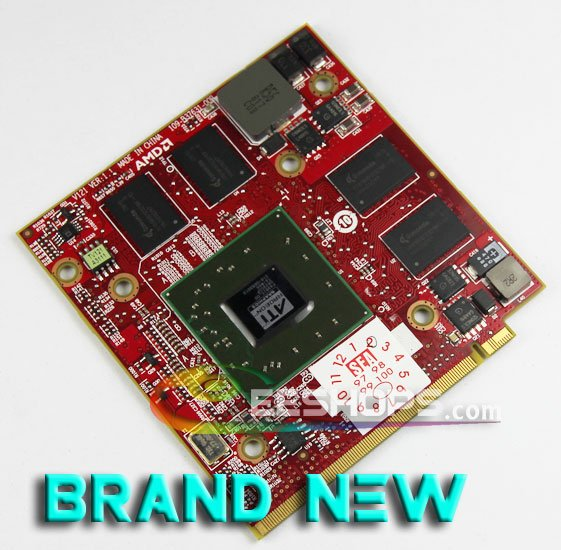 New for Acer Aspire 5710G 5920G 6530G 6920G Notebook ATI Radeon HD 3650 HD3650 DDR3 256MB MXM II Graphics Video Card Drive Case
