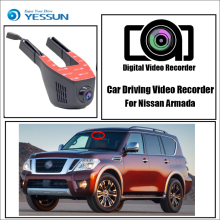 купить For Nissan Armada / Car Driving Video Recorder Wifi DVR Mini  Camera Black Box / Novatek 96658 FHD 1080P Dash Cam Night Vision по цене 4111.08 рублей
