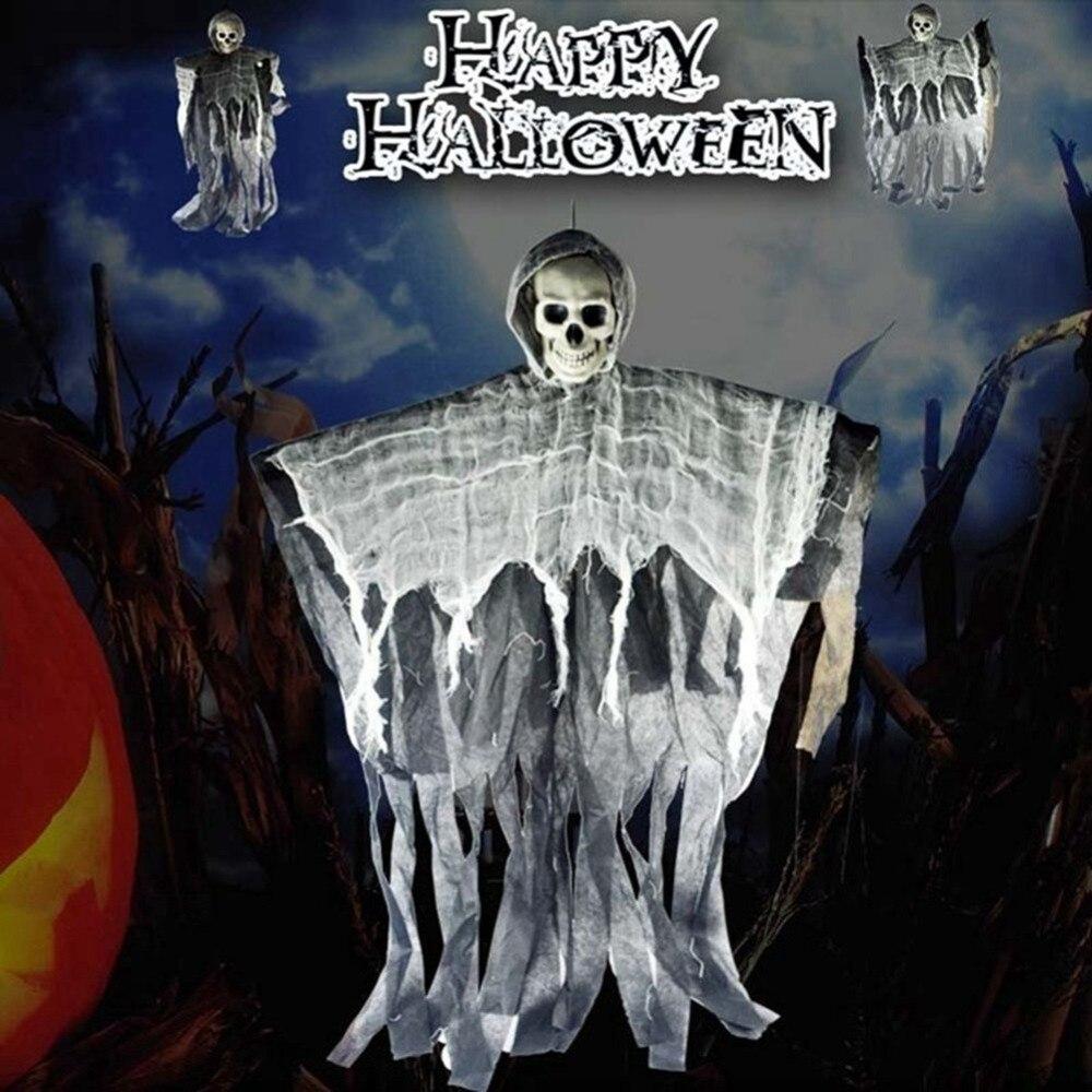 DIY Skeleton Hanging Ghost Horror Haunted House Grim Reaper Prop Halloween Decor