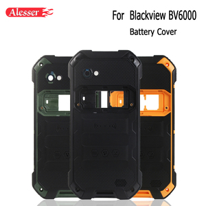 Image 1 - Alesser עבור Blackview BV6000 סוללה כיסוי מקרה עם מקרין סרט החלפת מגן סוללה כיסוי עבור Blackview BV6000