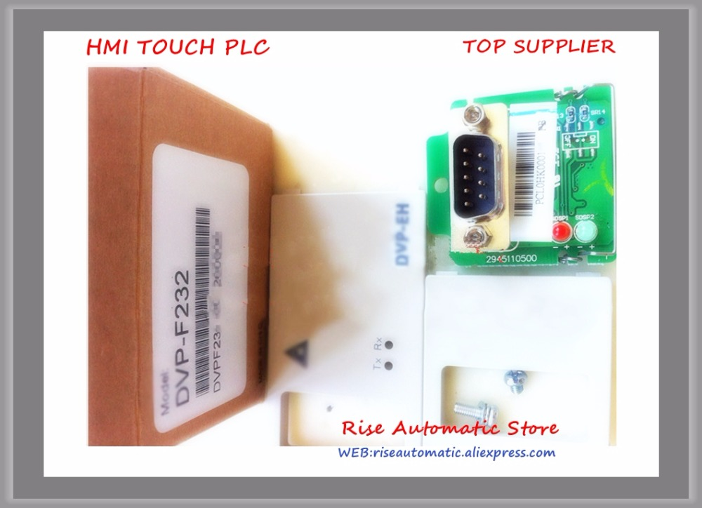 DVP-F232 New Original PLC RS-232 communication interface transfer function extension Card