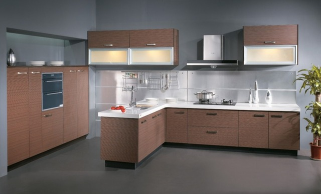 Classic  Solid Wood Kitchen Cupboard   (AGK-100)