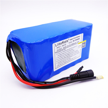 HK LiitoKala 24 V 6Ah 7S3P 18650 batterie Lithium Ion 29.4 V 6000 mAh pour vélo électrique