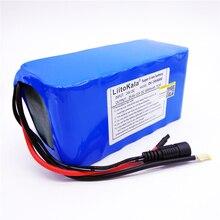 HK LiitoKala 24 V 6Ah 7S3P 18650 lityum iyon batarya 29.4 V 6000 mAh Elektrikli Bisiklet Için