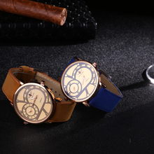 New Fashion Men Military Sports Watches Men's Quartz Auto Date Clock Top Brand Luxury Man Leather Strap Casual Wrist Watch