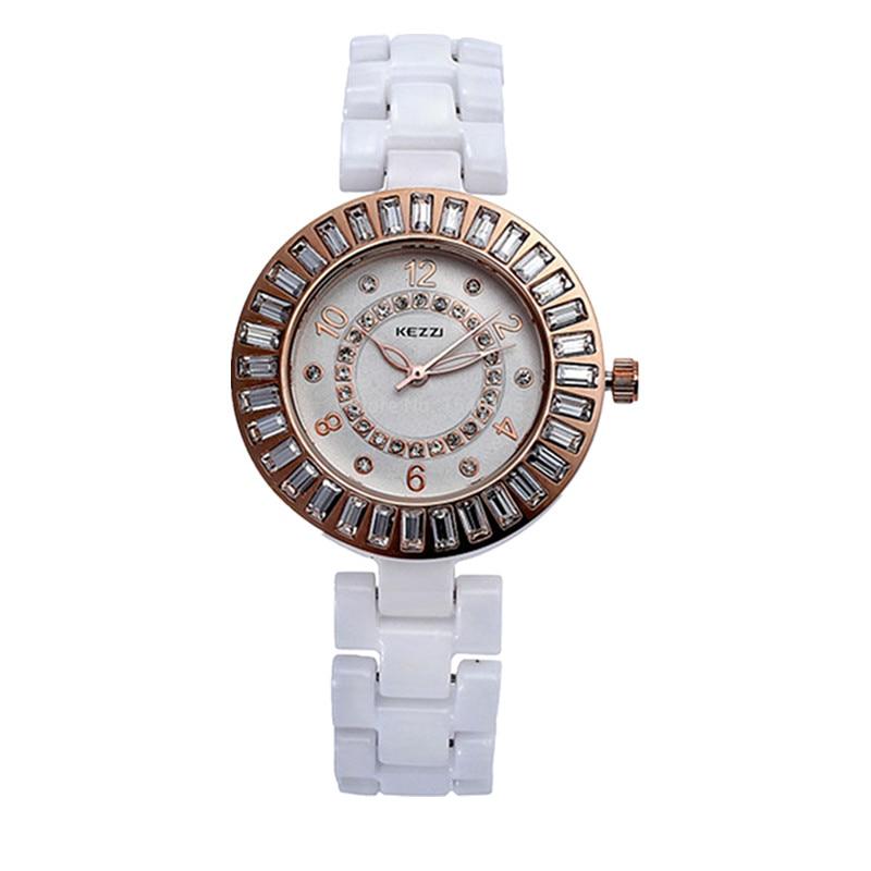 Free Shipping Women s Ladies Watch K838 Quartz Analog Ceramic Dress Wristwatches Gifts Bracelet Casual Waterproof