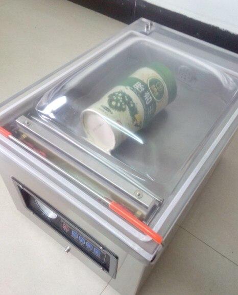 Stainless Steel Vacuum Food Sealer Table-Style Food Vacuum Bag Packing Machine Desk-top Vacuum Packer Machine