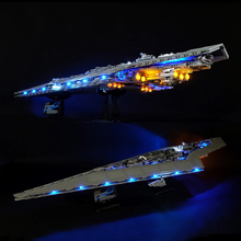 Led Light Set For Lego Star Wars 10221 Compatible 05028 Star Destroyer Building Blocks Bricks Toys (LED light+Battery box) dhl lepin 05132 star toy wars the 75192 new millennuium falcon star destroyer set building blocks bricks kid toys christmas gift