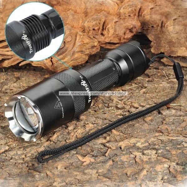 компании trustfire z6 в мини-фонарик масштабируемые 1000 люмен кри T6 из светодиодов, питание от 1 * 18650
