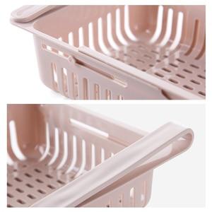 Image 5 - Acessórios de cozinha rack de cozinha rack de armazenamento organizador organizador de cozinha organizador caixa de armazenamento rack de armazenamento prateleira prateleira de armazenamento frigorífico