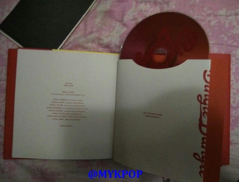 mini #5 bingle conjunto de álbum de pulseira cd-sa19061704