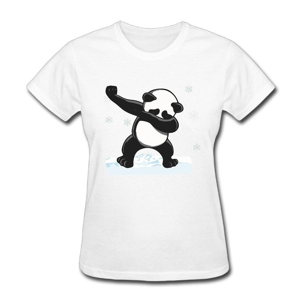 Mujeres Bailando Panda Fresco Y Seco de manga corta