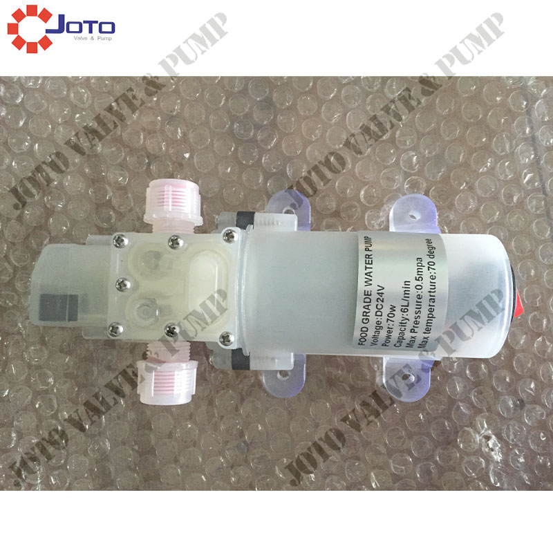 Small Diaphragm Edible Oil and Soy Milk and Beer Beverage Pump 24V DC 67Small Diaphragm Edible Oil and Soy Milk and Beer Beverage Pump 24V DC 67